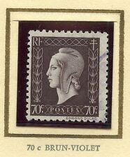 STAMP /  TIMBRE FRANCE OBLITERE MARIANNE DE DULAC N° 687