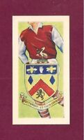 BURNLEY FC  Club Badge 1956 card  The CLARETS  The TURFITES  MOORITES  TURF MOOR