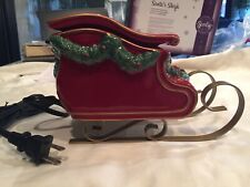 Nib Scentsy Santa's Sleigh Element Warmer, Retired 2014 Holiday Collection