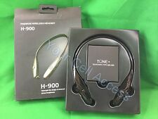 H-900 Bluetooth Retractable Headsets Black Universal For any Phone NO MANUAL