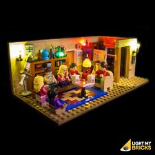 LIGHT MY BRICKS - LED Light kit for Lego Big Bang Theory set 21302