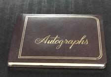 Vintage Unused Autograph Book~ autographs