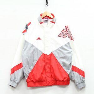 Vintage Ohio State Buckeyes Apex One Windbreaker Light Jacket Size Medium NCAA