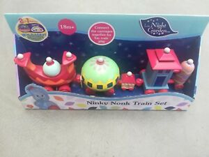 1 X In The Night Garden - Ninky Nonk Train Set by Golden Bear NEW