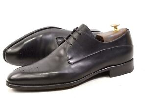 Ermenegildo Zegna EZ PREMIUM Couture 10UK 11US DERBY Shoes mens Goodyear Italy