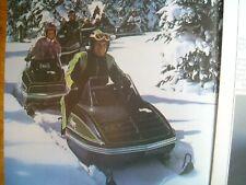 1976 Vintage ARCTIC CAT Snowmobile Brochure EL TIGRE JAG PANTHER