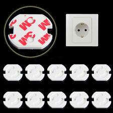 Kit 10x adesivi chiusura presa elettrica EU sicurezza bambino bambini anti shock