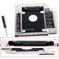 12.7mm SATA 2nd Hard Drive HDD SSD Caddy for ASUS K55A G55V GT51N UJ8C0 DVD
