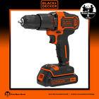 BLACK+DECKER. Trapano Avvitatore a percussione - Hammer drill | BDCHD18K o KB-QW