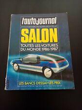 S423 REVUE L'AUTO JOURNAL SALON 1986-87