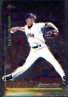 1999 Topps Chrome Baseball Card #95 Pedro Martinez
