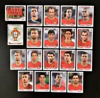 Panini WM 2010 Portugal Mannschaft Team Complete Set World Cup WC 10