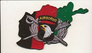 101st Airborne Division JAG Judge Advocate patch very large Afghan made
