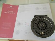 excellent vintage hardy viscount LA MKIII MK3 7/8 trout fly fishing reel ....