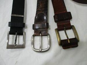 Jag / Logan / Boss Leather Belts