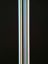 Serigraphie Orig de Sato Satoru Abstrait Op Art Cynetique Vasarely Yvaral 74