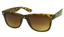 Brown Tortoise Medium Sunglasses Ladies Men Fashion Eyewear 80's