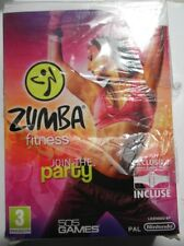ZUMBA FITNESS JOIN THE PARTY INCLUSE CEINTURE NINTENDO WII FRANCH EDITION NEUF