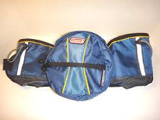 Coleman 'Hydrotech' InGear Water Carrier Waist Pack - Holds 2 Bottles - Blue