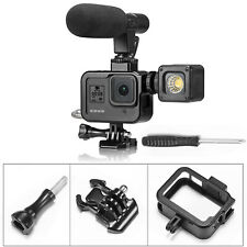 For GoPro Hero 8 Camera Metal Alloy Protective Frame Shell Housing Case Cage MV