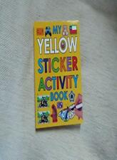 My Yellow Sticker Activity Book By anon