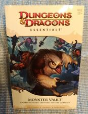 New ListingDungeons & Dragons Essentials: Monster Vault - 24465 - Book Only, No Other Parts
