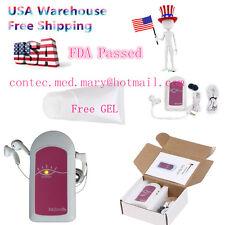 Usa Shipment Fda Prenatal Heart Monitor,Fetal Doppler+GeL,Baby Sound A + Headset