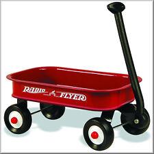 Vintage Radio Flyer red coaster wagon, Flat Flexible Refrigerator Magnet, 40 MIL
