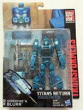 Transformers Titans Return Hyperfire and Blurr!! NEW!! SEALED!!!