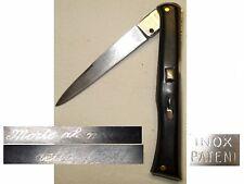 Ancien couteau, knife, corse Vendetta Patent, fermeture à pompe art populaire