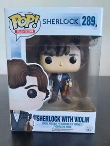 Television Funko Pop - Sherlock with Violin - Sherlock - No. 289