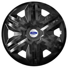 "16"" Wheel trims fit Ford Transit Custom Focus Galaxy 4 x16 inches  black"