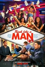 THINK LIKE A MAN TOO - 2014 - orig D/S 27X40 Advance Movie Poster - KEVIN HART