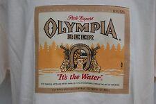 graphic retro art vintage mens t cotton t shirt Oly Beer,S,  M,L,XL