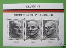 Block  11 ** , BRD 1975, Nr. 871-73, Friedensnobelpreis