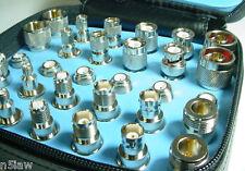 RFC 63-8723 30-Piece Adapter Kit for UHF SMA Mini-UHF TNC BNC N a Ham Shack Must