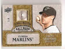 Jeremy Hermida 2009 Upper Deck Ballpark Collection Jersey Button 1/4