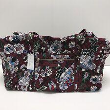 Vera Bradley Preppy Poly Crossbody Bag in Cobalt Stripe