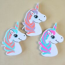 Unicorn Tape Measures, 1 Metre, Imperial & Metric, Blue, Pink, Lilac Colours