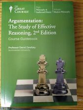 The Great Courses: Argumentation:The Study of Effective Reasoning, 2nd Ed.12 CDs