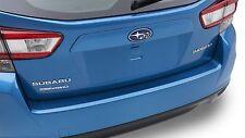 Genuine OEM 2017-2019 Subaru Impreza 5 Dr Rear Bumper Applique