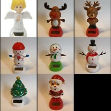 Any 5pcs  Christmas Solar Dancers Angel/X' mas Tree/Snowman/Santa/Reindeer