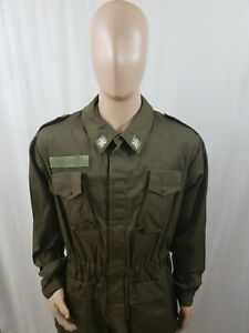 Italian Military Jacket  52L Army Uban Warfare Survival Apocalypse Field Jacket All Weather