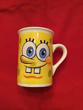 Spongebob Square Pants Coffee Mug Cup Tea Viacom Double Sided Sponge Bob