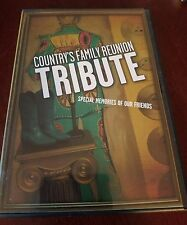Country's Family Reunion Tribute Special Moments Of Our Friends (DVD) NEW