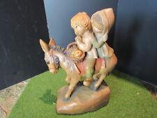 "Anri Ferrandiz JOURNEY Nativity Figurine Woodcarving 6"""