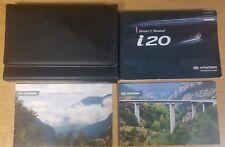 GENUINE HYUNDAI i20 OWNERS MANUAL HANDBOOK WALLET AUDIO 2008-2012 PACK F-572