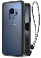 Samsung S9 Case Wrist Strap Holder Cover Military Tough Slim Anti Drop Protector