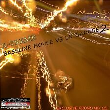 X-TREME BASSLINE HOUSE VS UK GARAGE VOL.2 ( 2 DJ MIXES )