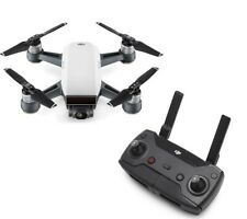DJI Spark Drone Alpine White with remote control, extra battery and much more.